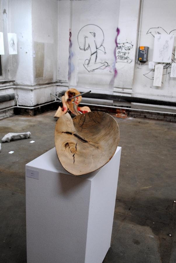 Kunst-Künstler-Bildhauer-Peter-Rappl-Objekt-II-Lackiererei